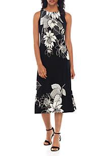 Kasper ITY Floral Midi Dress