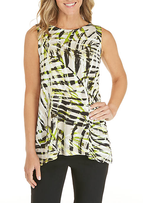 Sleeveless Fern Leaf Cami