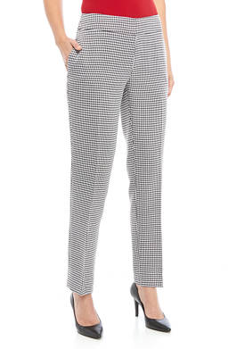 Womens Houndstooth Pants