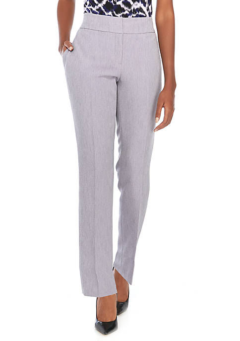 Kasper Stretch Crepe Pants