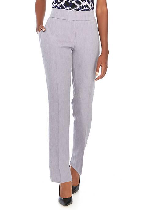Kasper Petite Stretch Crepe Pants