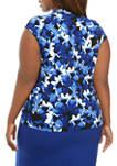 Plus Size Floral Top