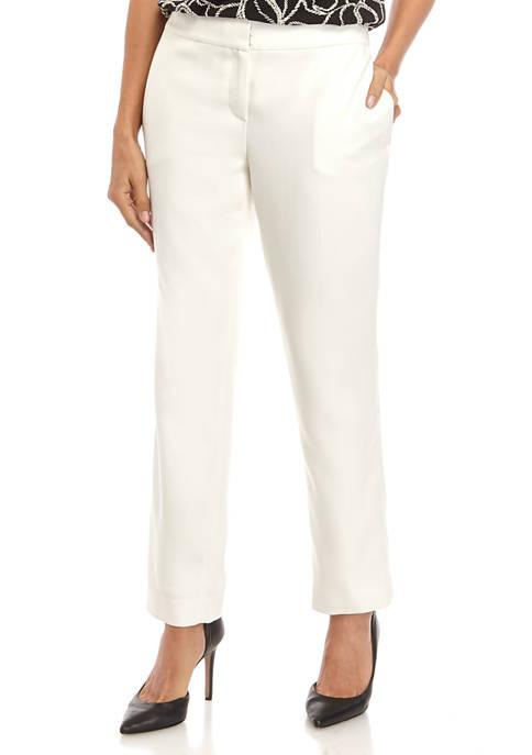 Kasper Womens Herringbone Pants