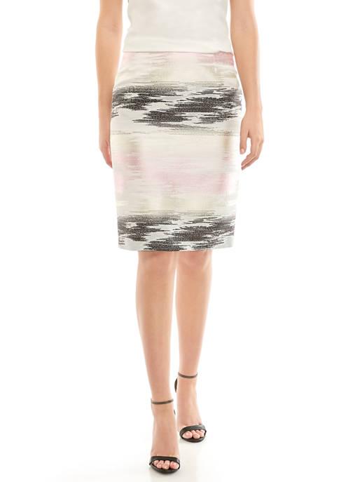 Womens Ombre Slim Skirt