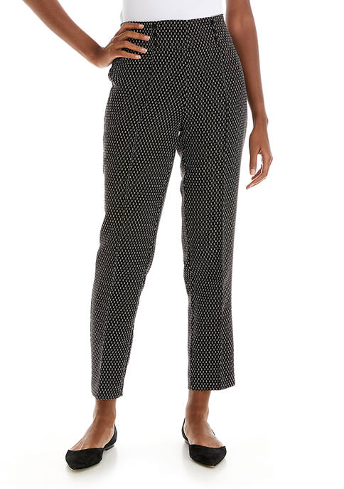 Womens Graphic Jacquard Pants