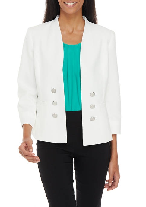 Womens Sophie Crepe Double Breasted Jacket