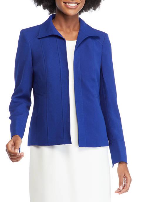 Womens Crepe Seam Jacket