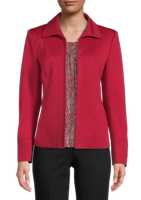 Womens Ponte Jacket