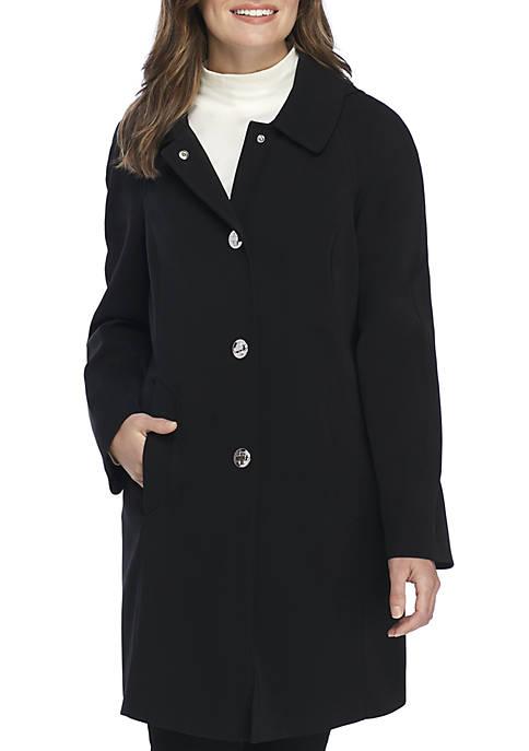 London Fog® Single Breasted Rain Coat