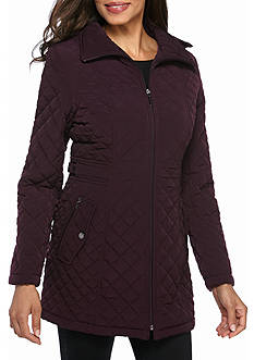 Gallery Mid Length Quilted Coat