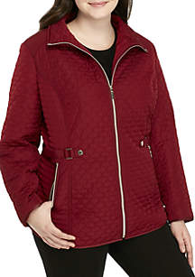 Gallery Plus Size Quilted Jacket