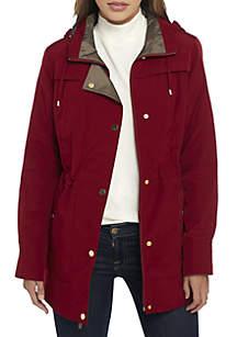 Hooded Rain Anorak Coat