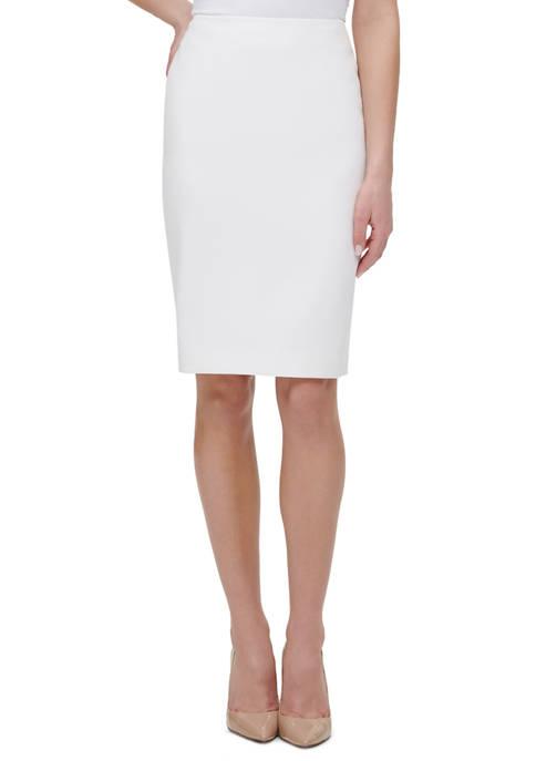 Womens Short Pocket Solid Skirt