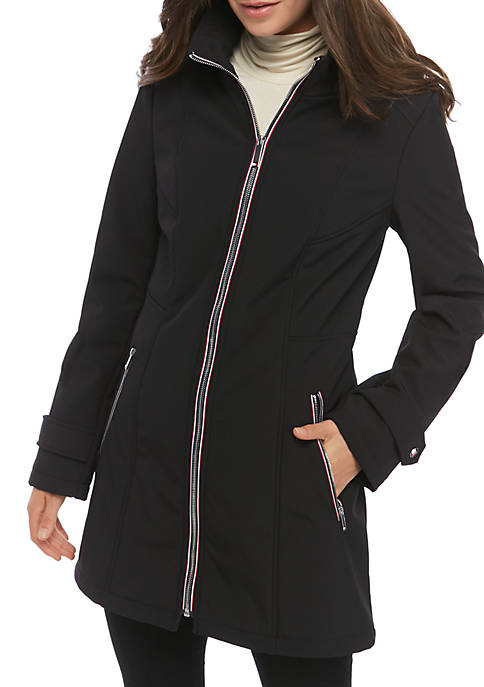 Tape Front Softshell Jacket