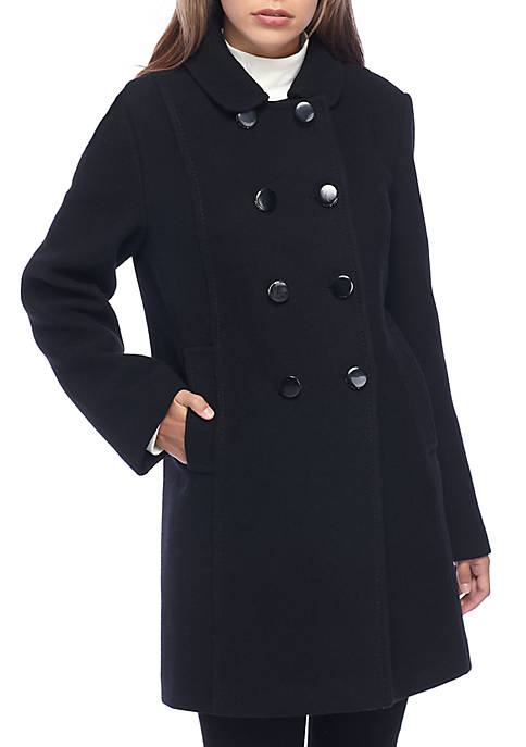 kate spade new york® Double Breasted Wool Coat