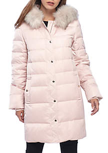 Long Heavy Weight Down Jacket