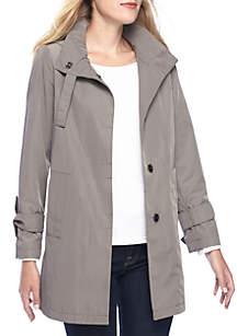 Leighton Shift Rain Coat