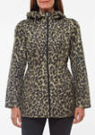 Womens Printed Parka in a Pocket