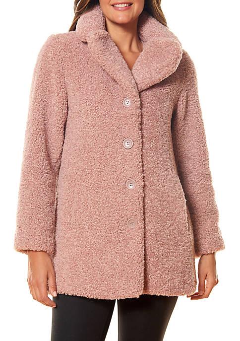 Kaari Blue™ Curly Mid Length Coat