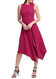 Asymmetrical High Low Dress