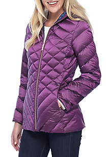 2-Tone Packable Down Jacket