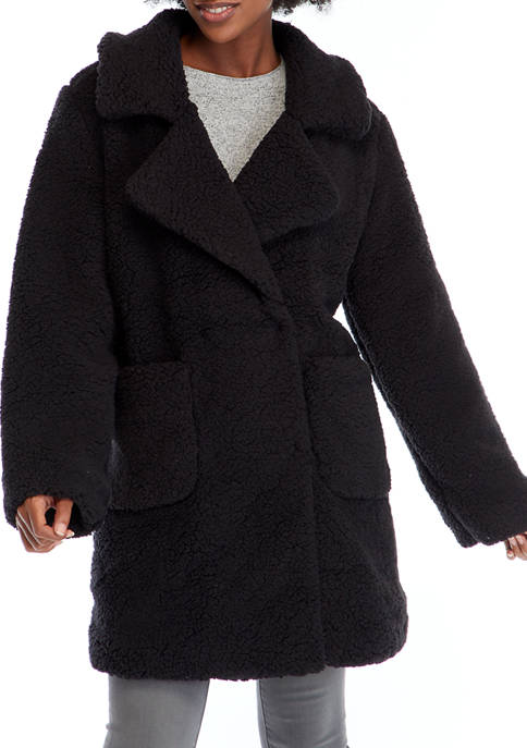 C&C California® Womens Notch Collar Woobie Jacket