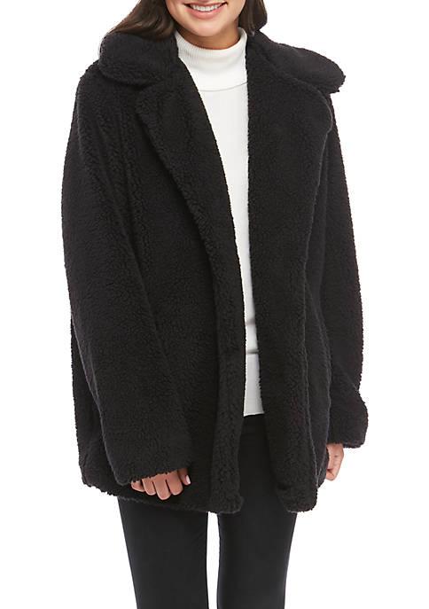 C&C California® Button Front Babbo Fleece Jacket