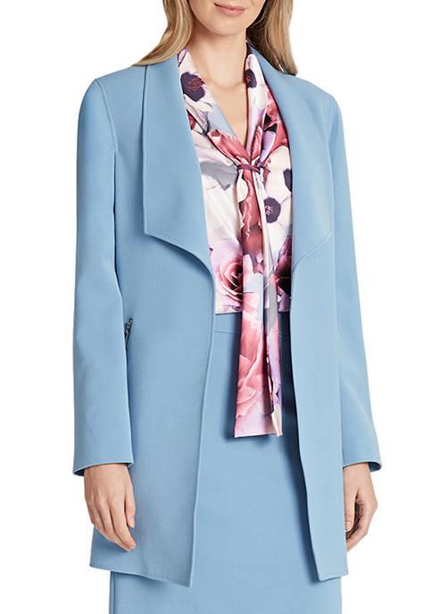 Womens Shawl Collar Topper Jacket
