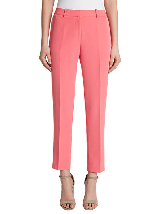 Womens Milano Twill Ankle Pants