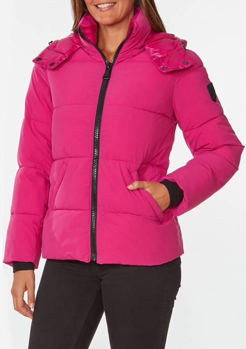 Womens Stretch Puffer Jacket