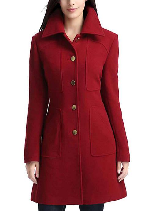 Womens Liz Wool Walking Coat