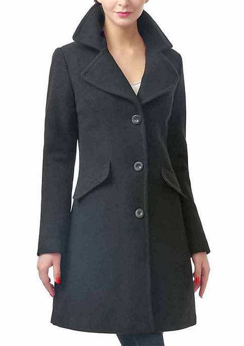Kimi & Kai Womens Sasha Wool Walking Coat