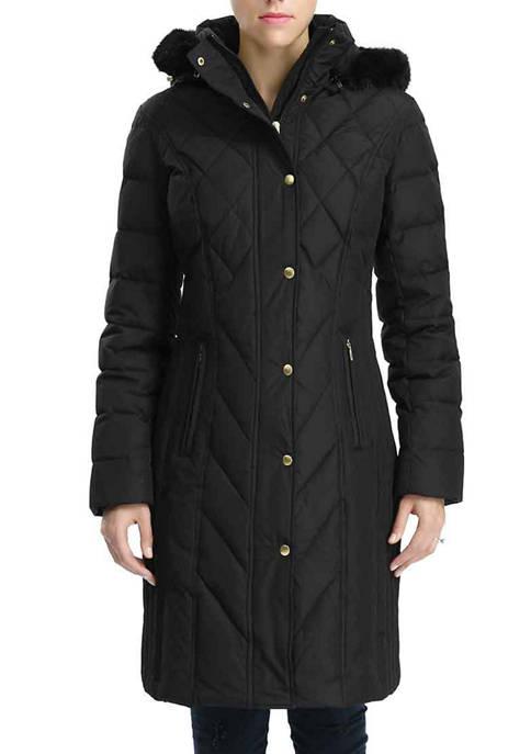 Womens Waterproof Down Parka Coat