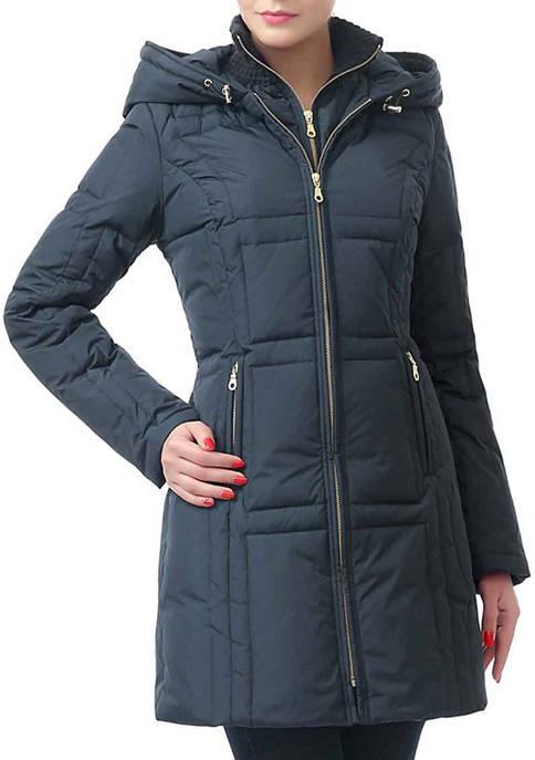 Womens Waterproof Down Puffer Coat