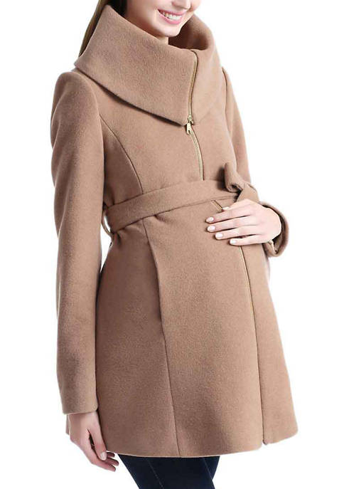 Kimi & Kai Maternity Mia Wool Blend Fold