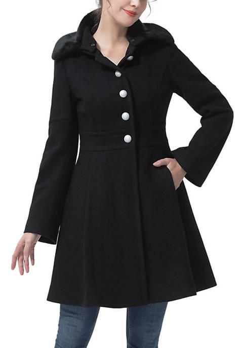 Kimi & Kai Womens Karlee Wool Coat