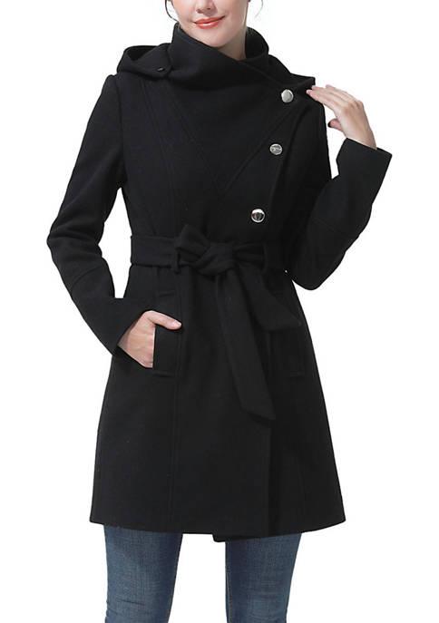 Kimi & Kai Womens Karsyn Wool Coat