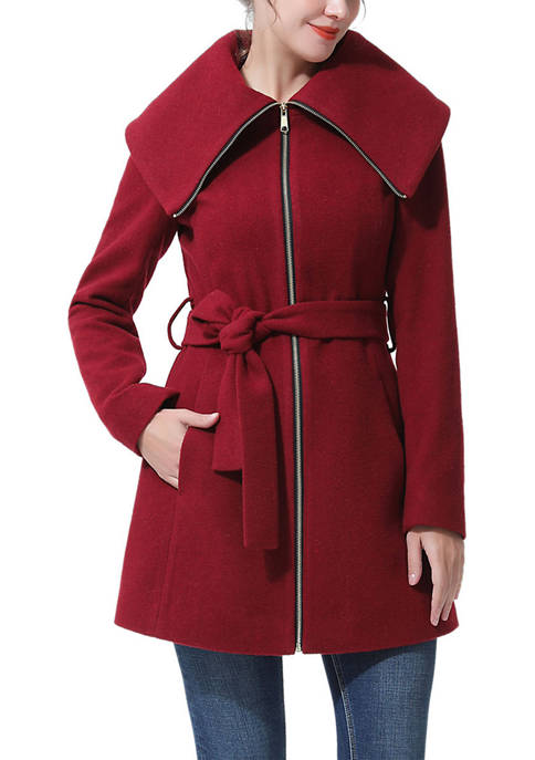 Kimi & Kai Womens Karlie Wool Coat
