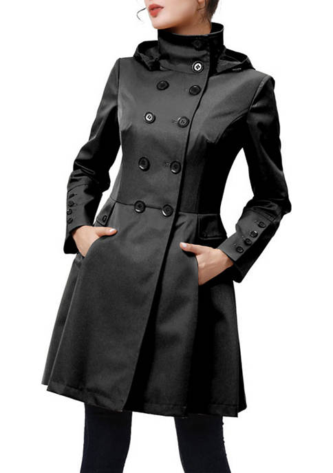 Kimi & Kai Womens Katie Trench Coat