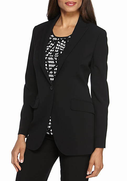 Anne Klein Long Jacket