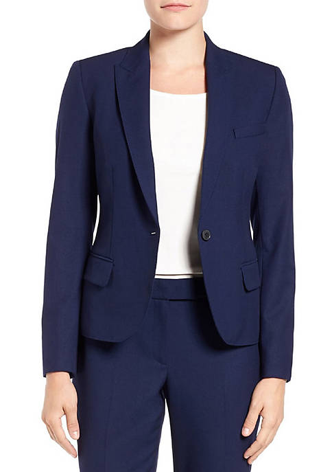Anne Klein Front Button Jacket