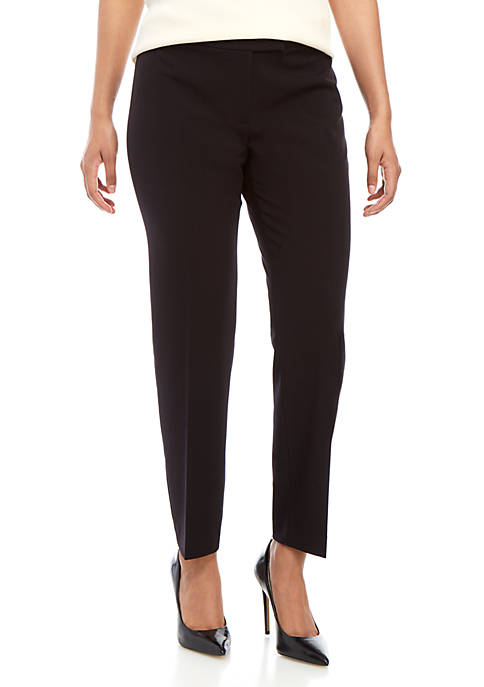 Anne Klein Extend Tab Dress Pants
