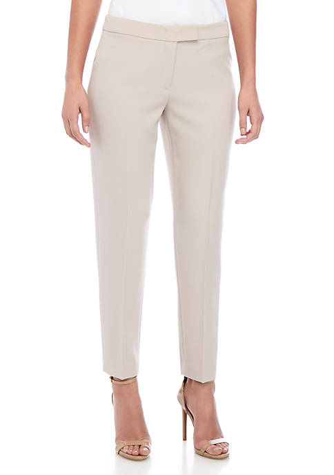 Crepe Extended Tab Pants
