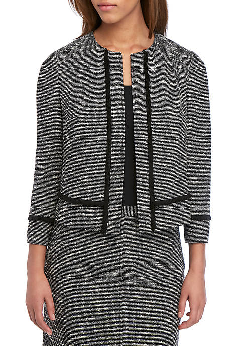 Tweed Kissing Fringe Jacket