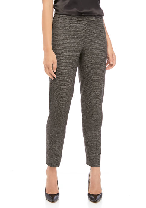 Anne Klein Houndstooth Bowie Pants