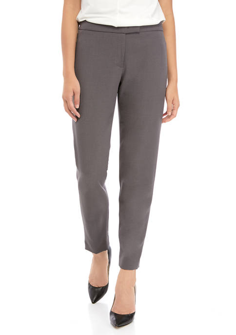 Anne Klein Womens Crepe Bowie Pants