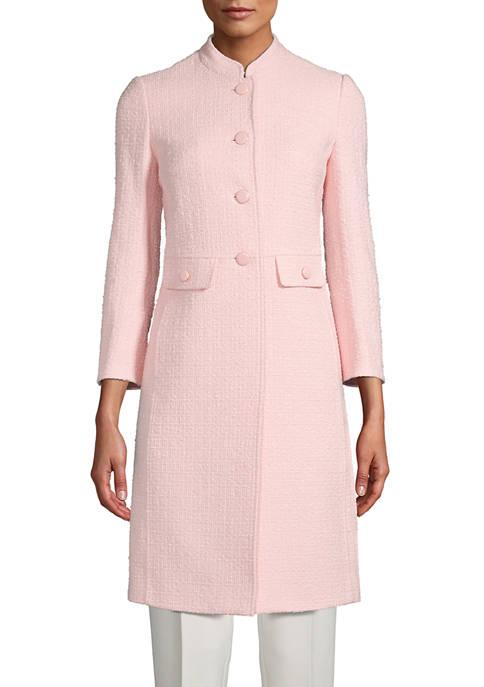 Womens Tweed Topper Jacket