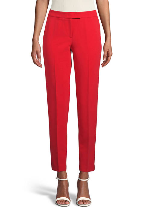Anne Klein Womens Contour Stretch Bowie Pants