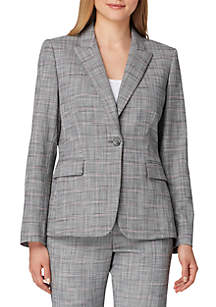Novelty Plaid Jacket