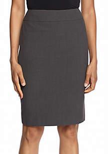 Nine West Bi-Stretch Straight Skirt